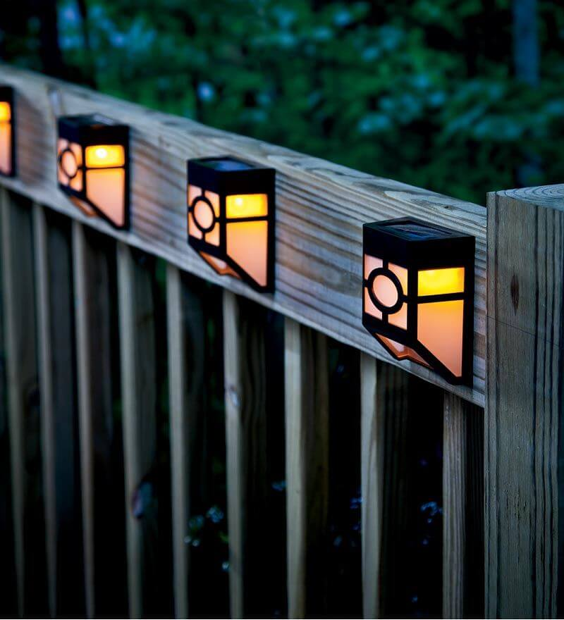 Solar Panel Outside Wall Lights