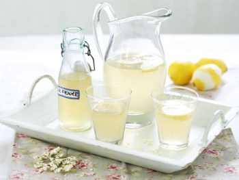 Home made Elderflower cordial