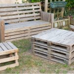 Outdoor Pallet Furniture Ideas Making Pallet Furniture For Gardens