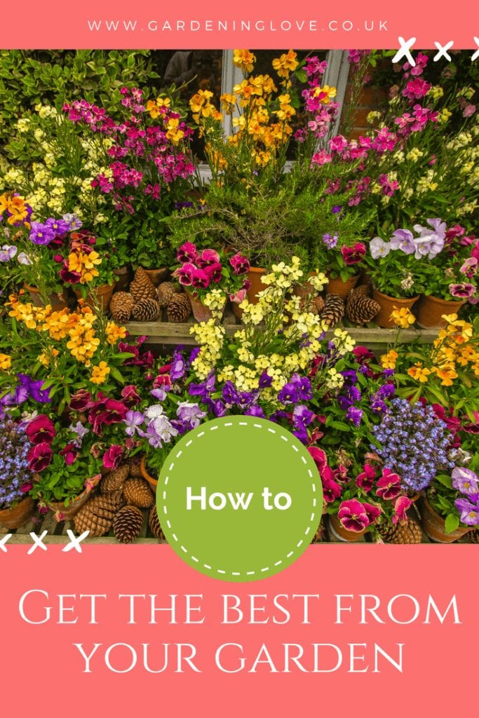 General gardening tips. How to get the best from your garden.