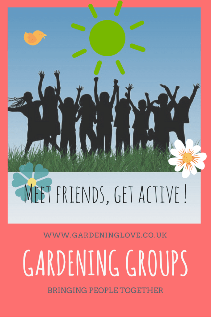 Gardening groups bring people together. Seed swaps, meet friends, ecotherapy for mental health.