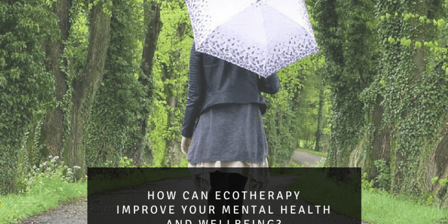 Taking a walk outdoors, ecotherepy . Ecotherepy improves mental health.
