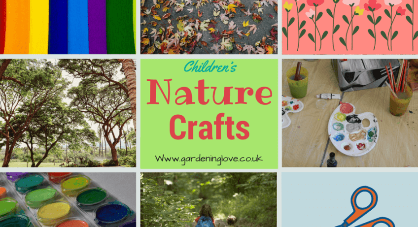 Nature crafts for children