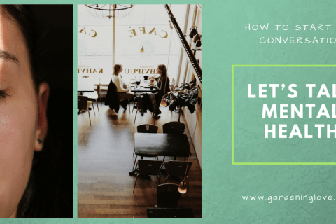 Talking about mental health. How to start the conversation about mental health with mental health conversation starters. #mentalhealth #mentalhealthawareness