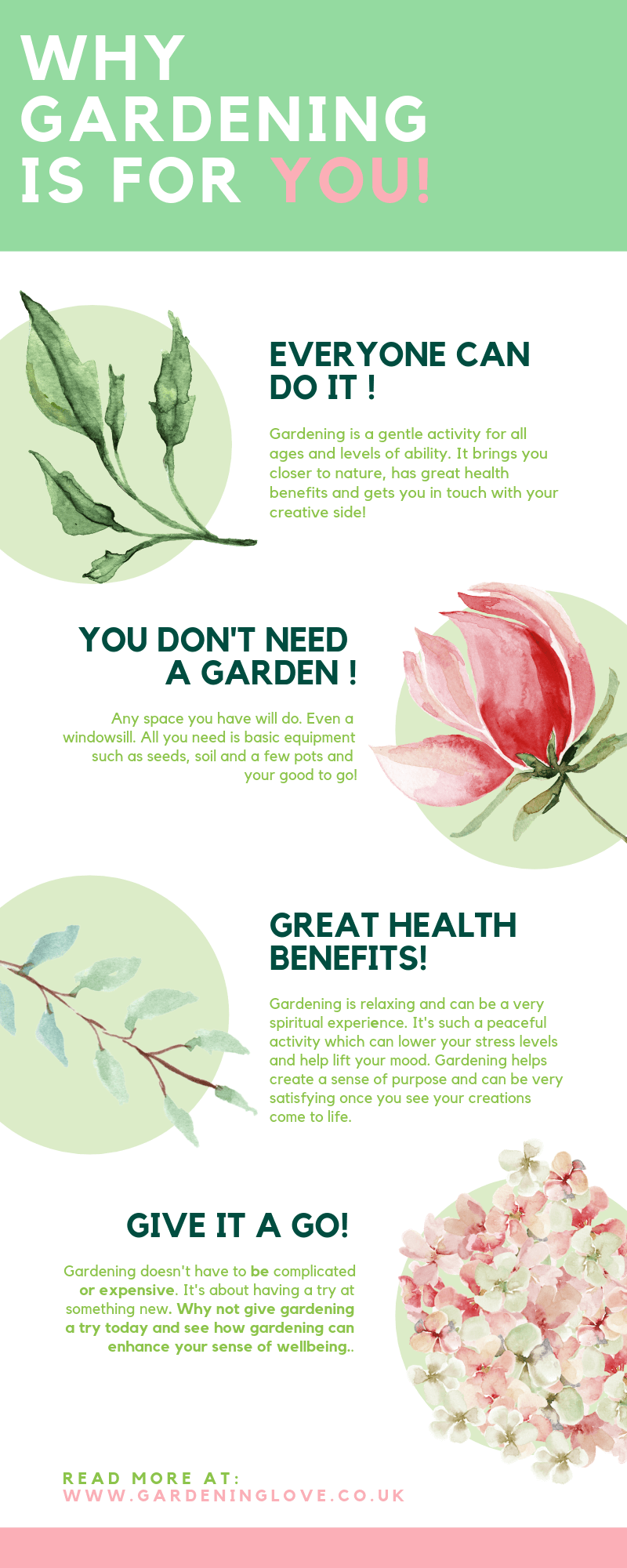 Heath benefits of gardening, reasons why gardening is underrated.