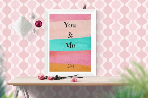 You & Me = We Digital Download