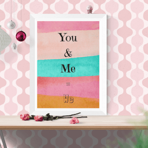 You & Me = We Digital Download