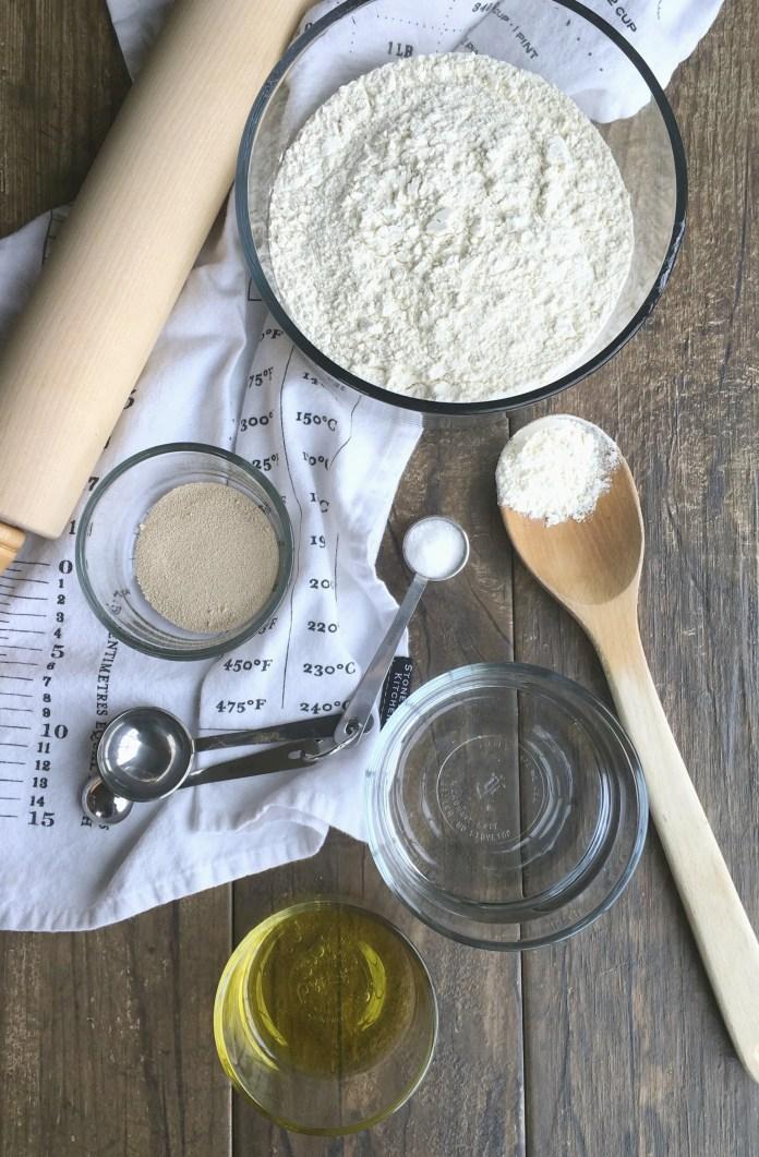 Easy Homemade Pizza Dough Garden In The Kitchen