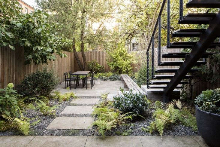 Landscaping: 10 Classic Layouts for Townhouse Gardens ... on Townhouse Patio Ideas  id=21033