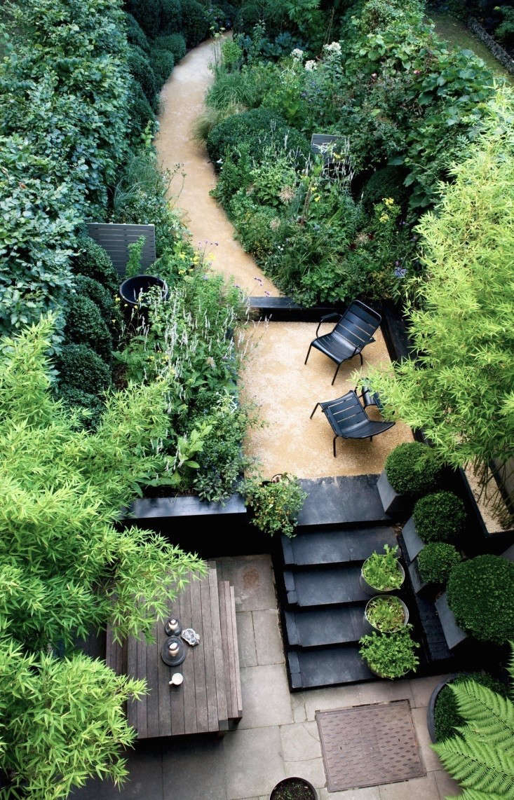 Landscaping: 10 Classic Layouts for Townhouse Gardens ... on Townhouse Patio Ideas  id=52519