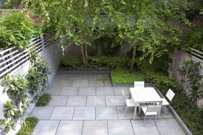 Landscape Architect Visit: A Lush NYC Backyard by Robin ... on Townhouse Patio Ideas id=39540