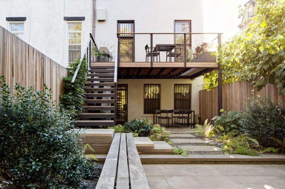 Garden Designer Visit: Brook Klausing Elevates a Brooklyn ... on Townhouse Patio Ideas  id=71111