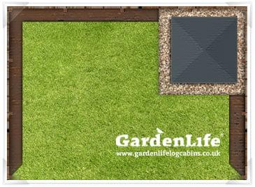 Garden Designs For Summer Houses Gardenlife Log Cabins