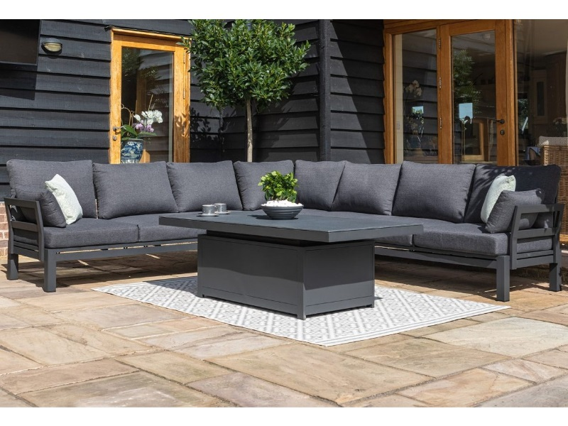 Alibaba.com offers bamboo sofa set design made by reputable brands and sold by certified suppliers. Maze Rattan Oslo Large Corner Sofa Group with Rising Table ...
