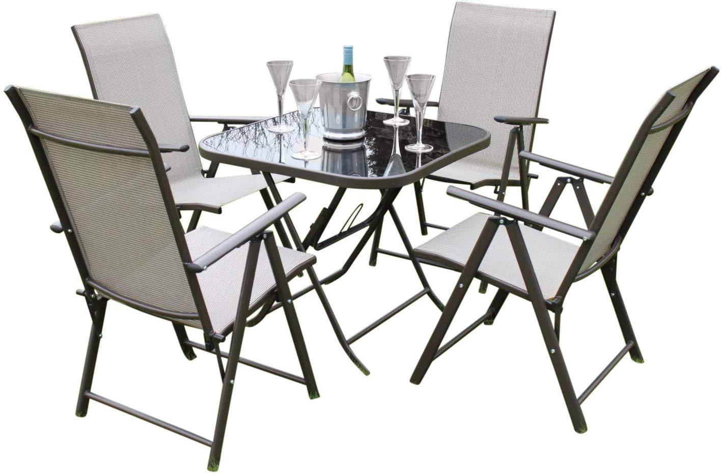 henley 4 seater garden dining set wr1254 wr1652
