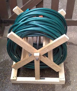 How to make hose reel