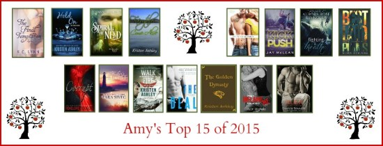 Amy's Top 15 of 2015