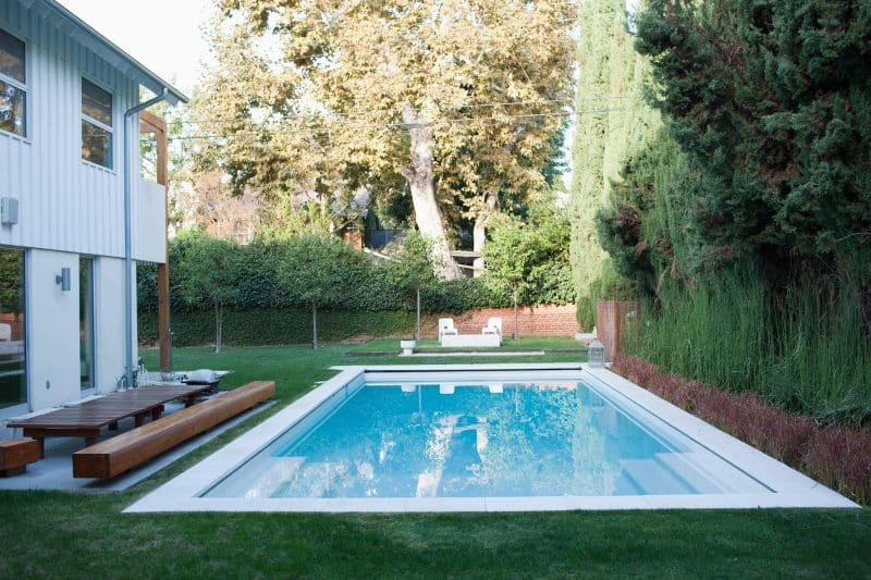 Amazing Small Swimming Pool Ideas Garden Outline