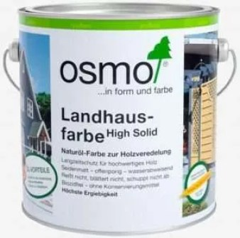 OSMO is a durable summerhouse paint with excellent weather resistance.