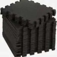 Using rubber mats for soundproofing.