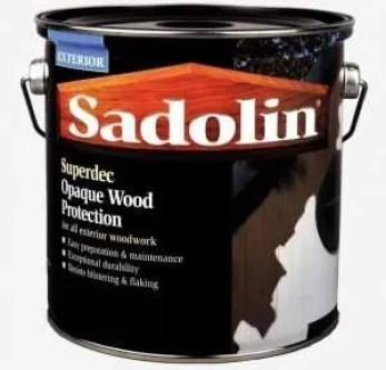 Sadolin Superdec is a highly recommend paint for summerhouses.