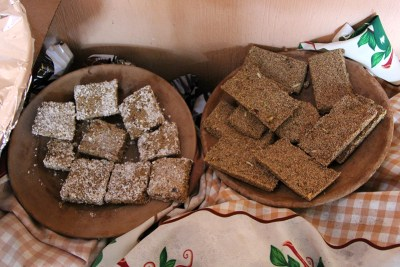 Amaranth bars are a nutritious alternative to salty and sugary snacks.