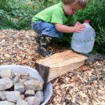How to Make a Bee Waterer
