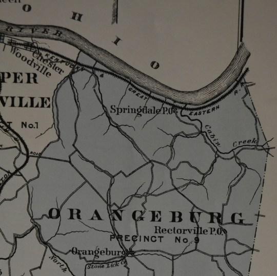 The Orangeburg precinct, circa 1876.