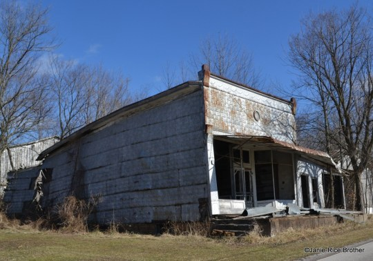 Old store in Epworth