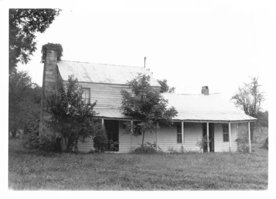 The Whitlock House, circa 1984. (National Register of Historic Places photographic files)