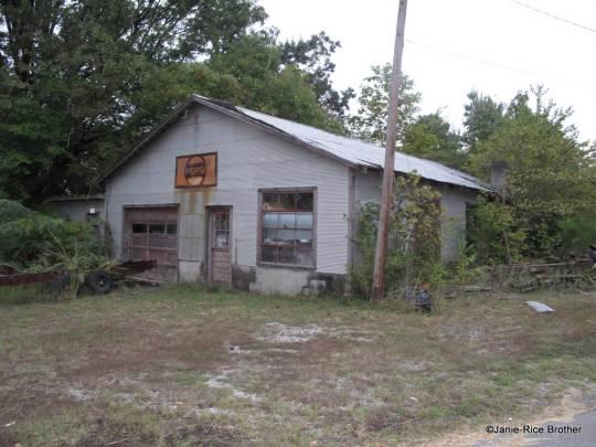 A former garage in Frances.
