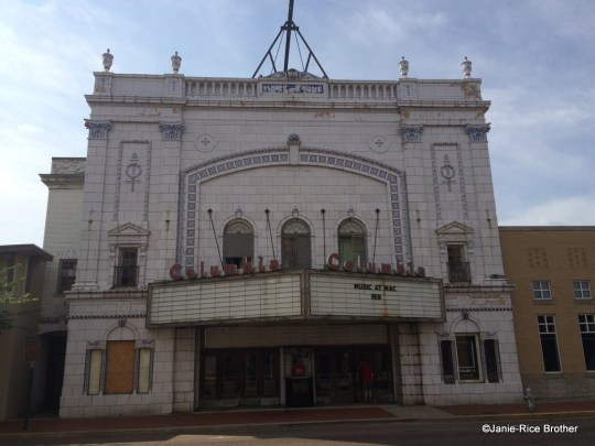 The facade of the 1927 Columbia Theatre in Paducah, Kentucky.