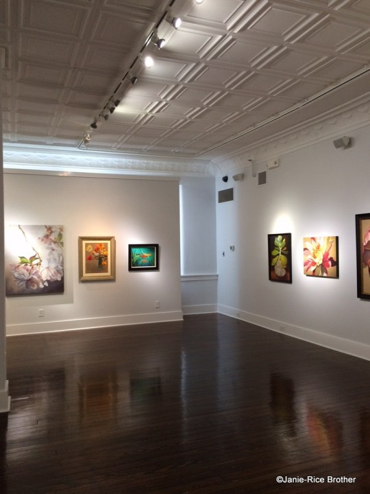 One of the galleries in the Gateway Regional Arts Center in Mt. Sterling, Kentucky.