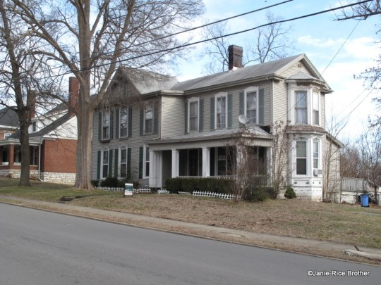 One of the homes built along North Main Street in the late-19th century.
