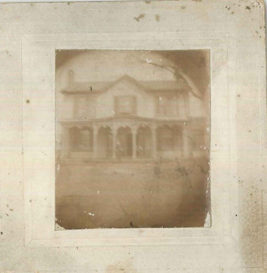 My memories of landscapes from childhood are about as unfocused and blurry as this old family photo.
