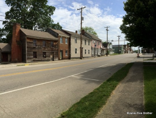 Streetscape in downtown Owingsville, Kentucky.