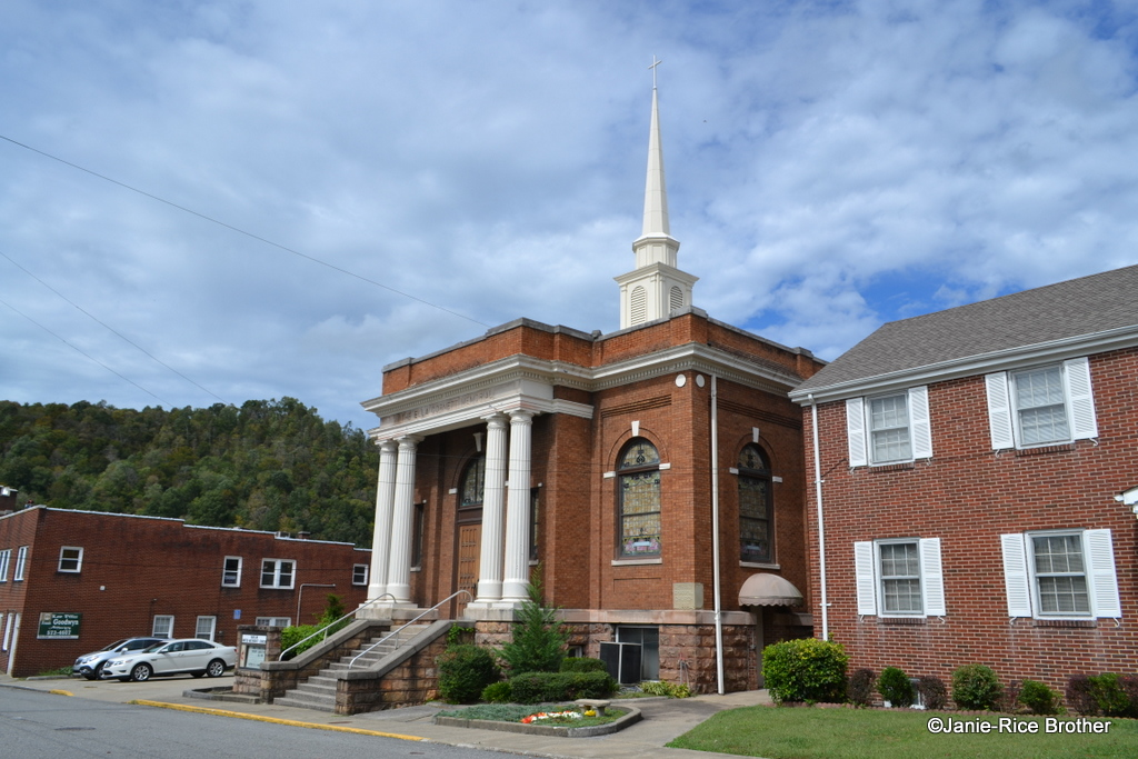 The church is located on East Mound Street in the southeastern Kentucky town.