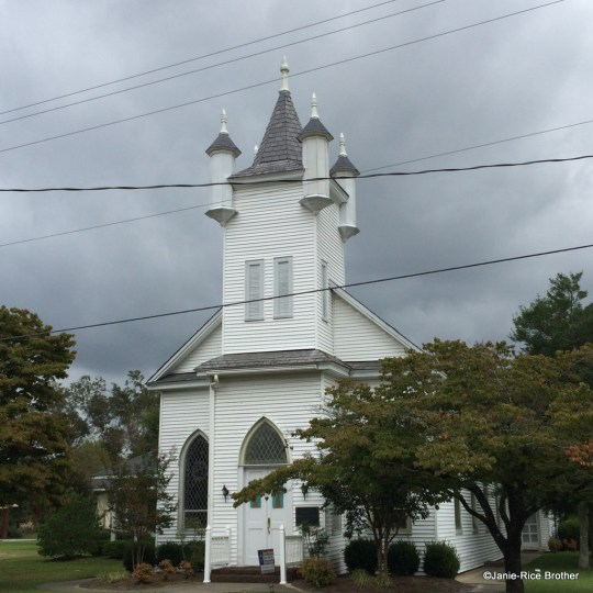 The United Methodist Church in Trenton, North Carolina.
