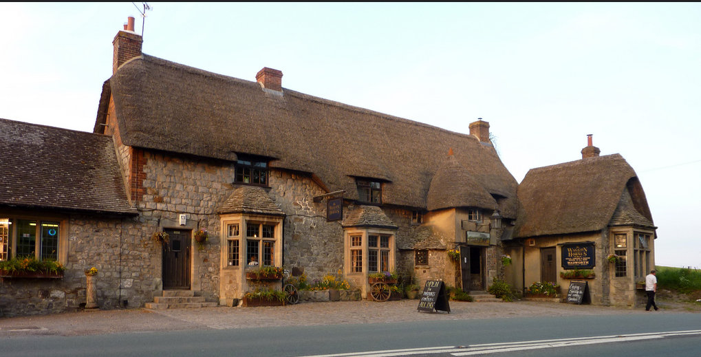 The Waggon and Horses Pub. Photo by Richard Ellis,Flickr Creative Commons.