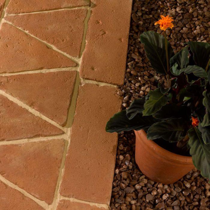 antique terracotta patio border tile 420x140