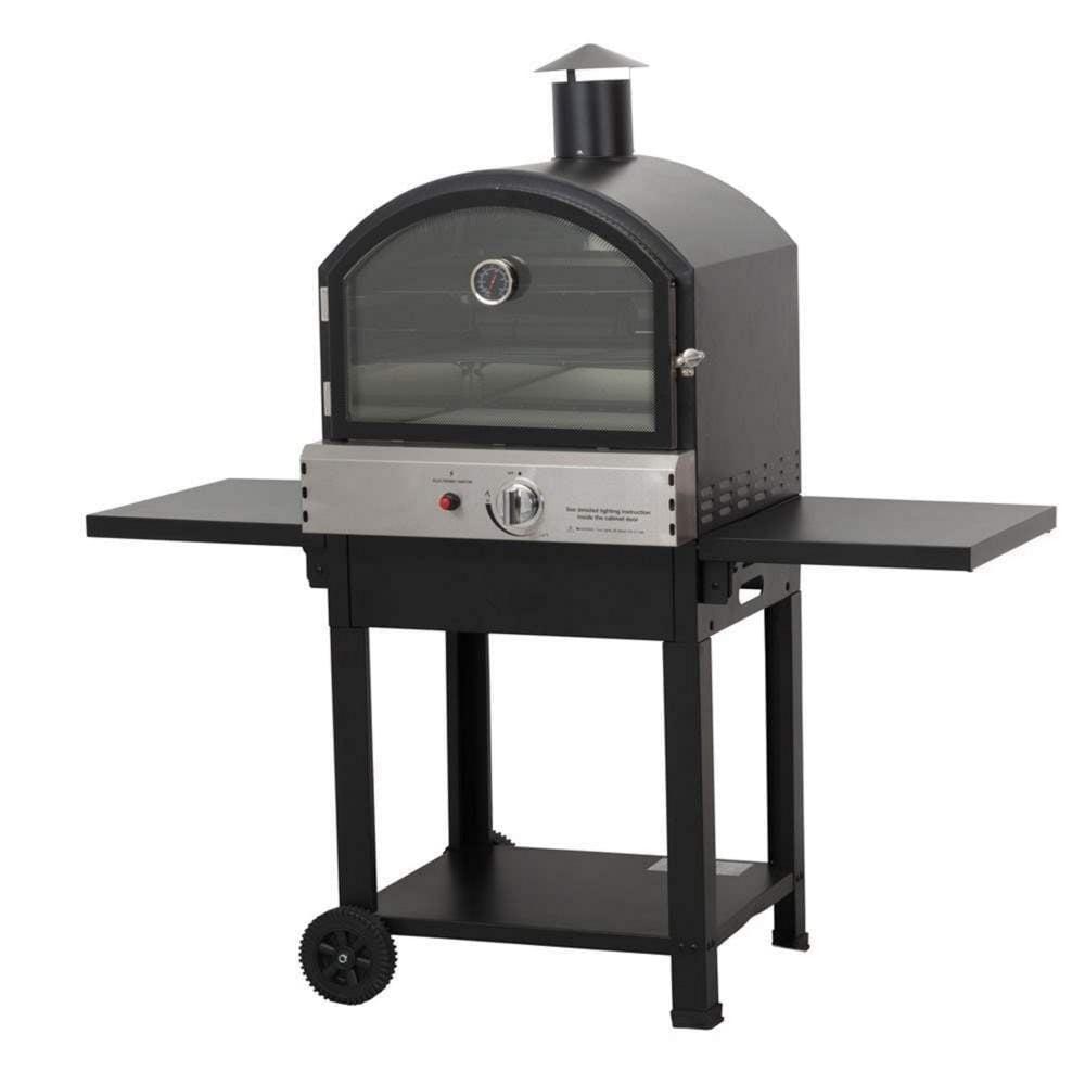 Lifestyle Taranto Garden Pizza Oven | Garden Street on Outdoor Patio With Pizza Oven id=26487