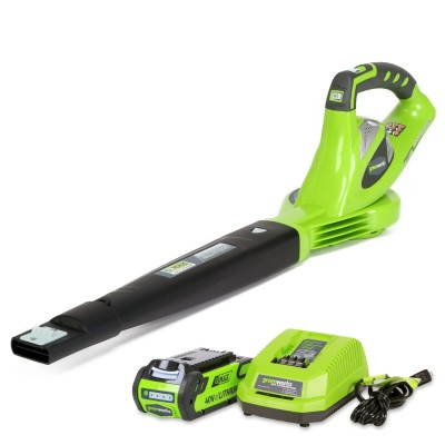 The Greenworks 24252 has a 40V battery that can be used on 25 other tools