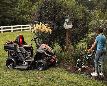 Raven MPV7100 Hybrid Riding Lawnmower Power Generator and Utility Vehicle Featured