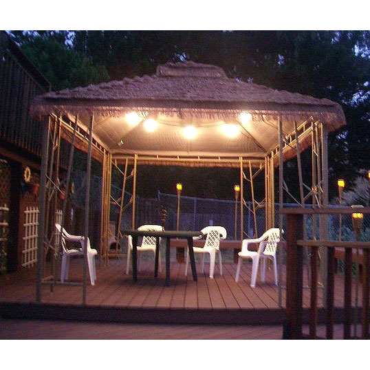 Lowe S Garden Treasures Gazebo 225173 Garden Winds