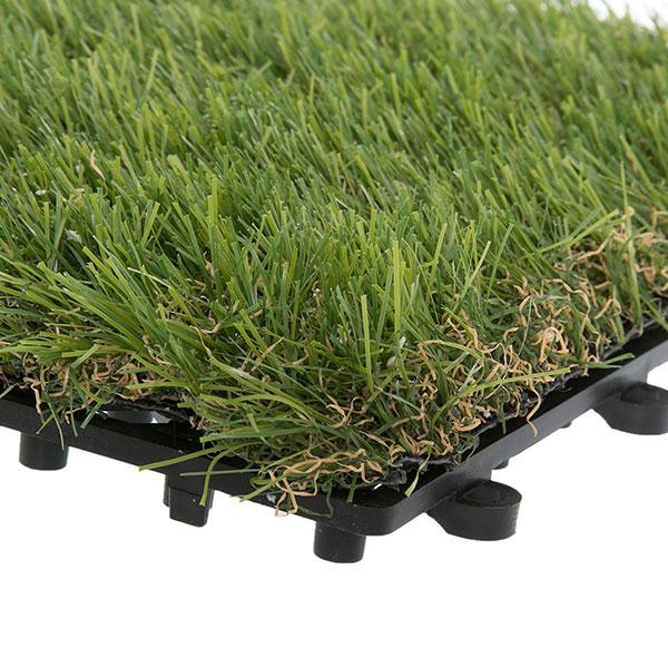 Grass Deck Tiles 35mm Pile Height Box Of 10 Garden Winds