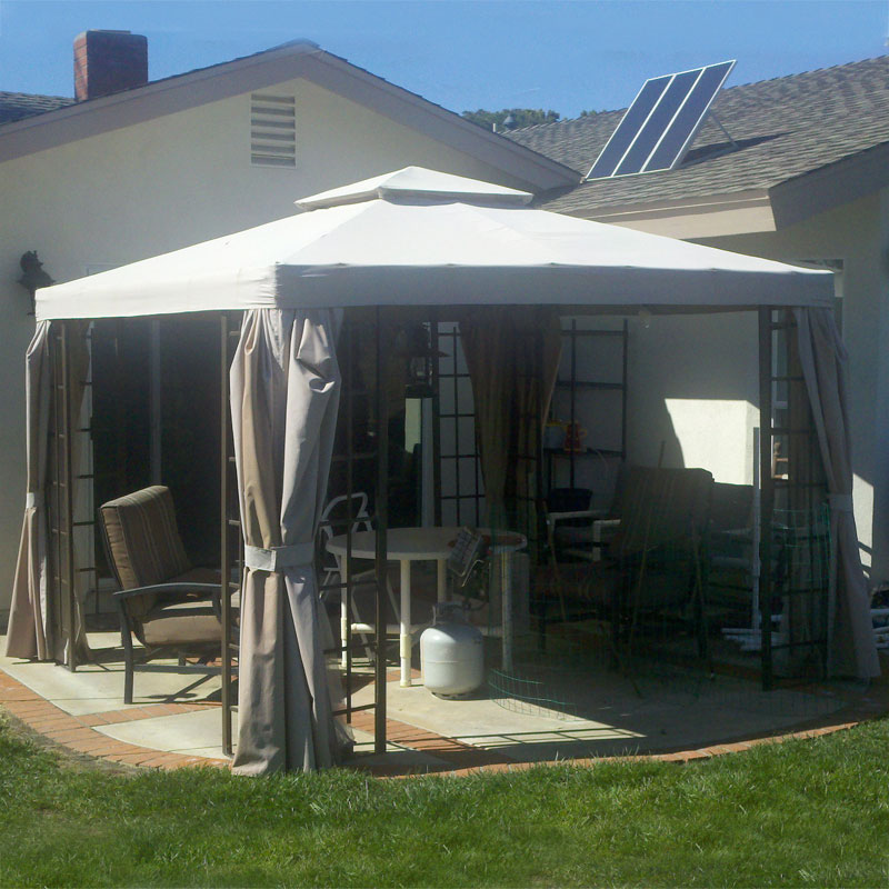 Boscov S 10 X 10 Window Pane Replacement Canopy And