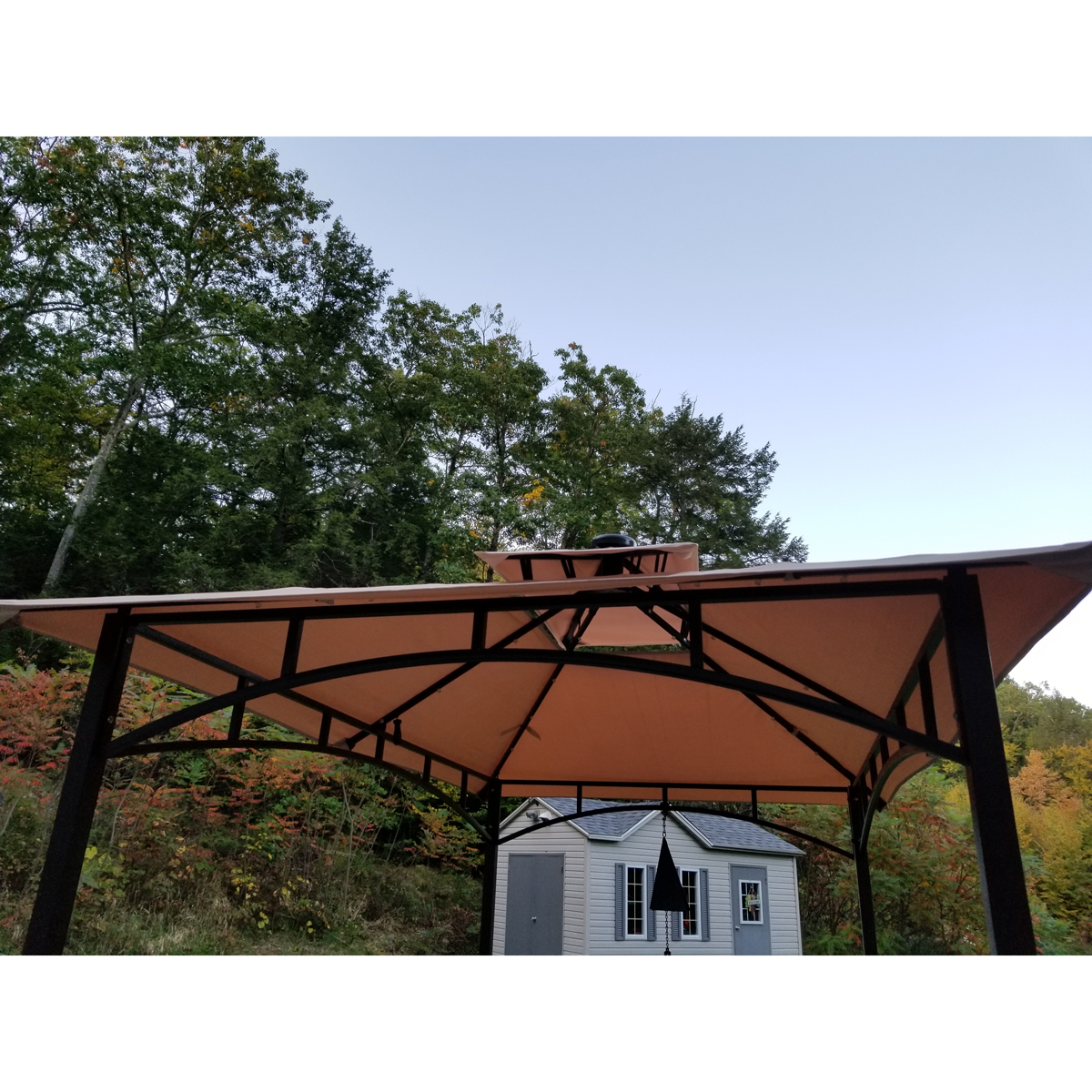 Replacement Canopy For Grill Gaz With Solar Lights