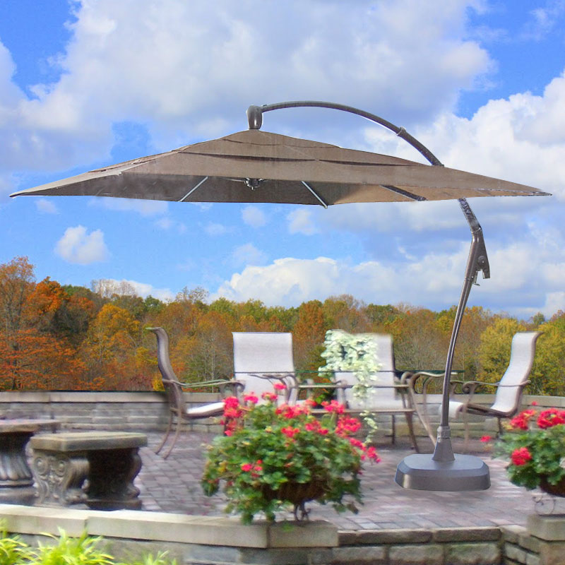 Costco Square Cantilever Umbrella Replacement Canopy