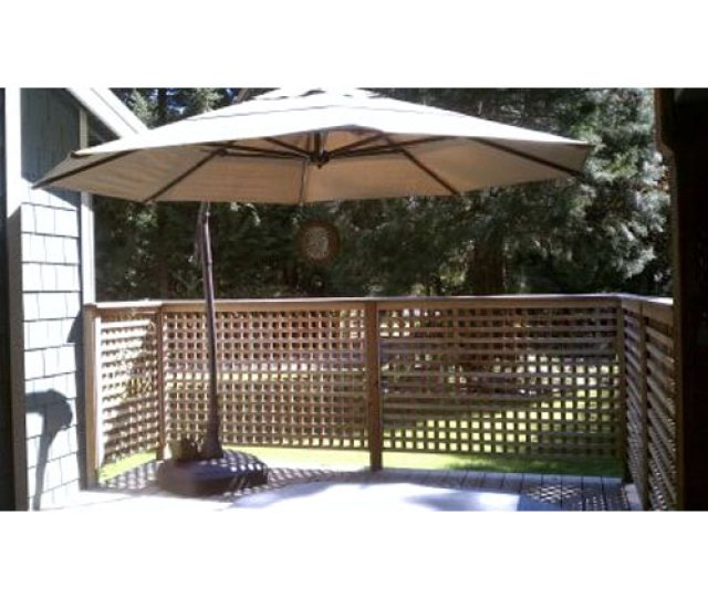 Replacement Canopy For Round Cantilever Umbrella