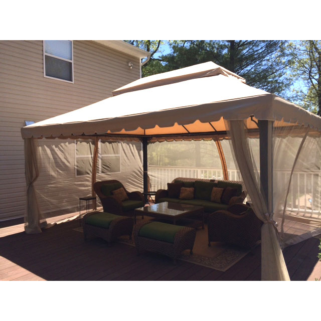 Garden Oasis 12 X 16 Ft Gazebo Replacement Canopy Garden Winds